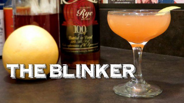 The Blinker - A Vintage Prohibition-Era Whiskey Cocktail